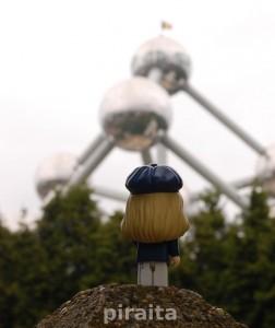 Bonjour, mi nombre es Sofie, y estoy en Bruselas, donde los cielos son blancos.